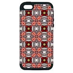 Cute Pretty Elegant Pattern Apple Iphone 5 Hardshell Case (pc+silicone) by creativemom