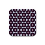 Cute Pretty Elegant Pattern Drink Coaster (Square) Front