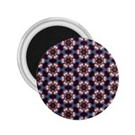 Cute Pretty Elegant Pattern 2.25  Button Magnet Front