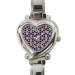 Cute Pretty Elegant Pattern Heart Italian Charm Watch  by creativemom