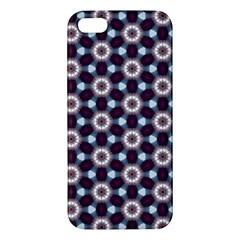 Cute Pretty Elegant Pattern Iphone 5s Premium Hardshell Case by creativemom