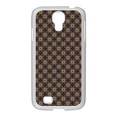 Cute Pretty Elegant Pattern Samsung Galaxy S4 I9500/ I9505 Case (white) by creativemom
