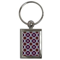 Cute Pretty Elegant Pattern Key Chain (rectangle) by creativemom