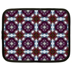 Cute Pretty Elegant Pattern Netbook Sleeve (xxl) by creativemom