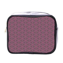Cute Pretty Elegant Pattern Mini Travel Toiletry Bag (one Side)