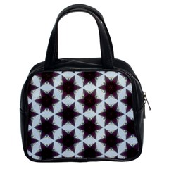 Cute Pretty Elegant Pattern Classic Handbag (two Sides) by creativemom