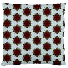 Cute Pretty Elegant Pattern Large Flano Cushion Case (one Side) by creativemom