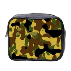 Camo Pattern  Mini Travel Toiletry Bag (two Sides)