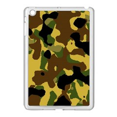 Camo Pattern  Apple Ipad Mini Case (white)