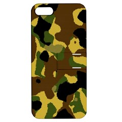 Camo Pattern  Apple Iphone 5 Hardshell Case With Stand by Colorfulart23