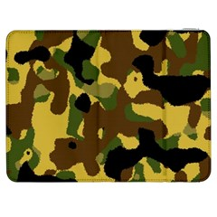 Camo Pattern  Samsung Galaxy Tab 7  P1000 Flip Case by Colorfulart23
