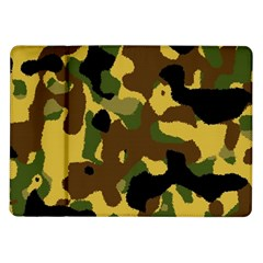Camo Pattern  Samsung Galaxy Tab 10 1  P7500 Flip Case by Colorfulart23