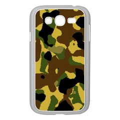 Camo Pattern  Samsung Galaxy Grand Duos I9082 Case (white) by Colorfulart23