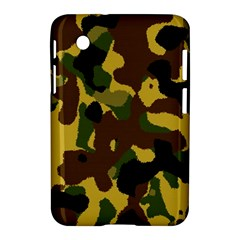 Camo Pattern  Samsung Galaxy Tab 2 (7 ) P3100 Hardshell Case  by Colorfulart23