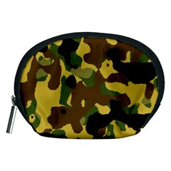Camo Pattern  Accessory Pouch (medium) by Colorfulart23