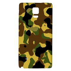 Camo Pattern  Samsung Note 4 Hardshell Back Case by Colorfulart23
