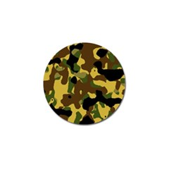 Camo Pattern  Golf Ball Marker 10 Pack by Colorfulart23