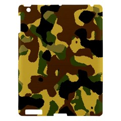 Camo Pattern  Apple Ipad 3/4 Hardshell Case by Colorfulart23