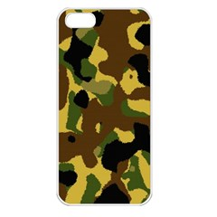 Camo Pattern  Apple Iphone 5 Seamless Case (white)