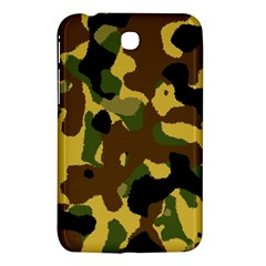 Camo Pattern  Samsung Galaxy Tab 3 (7 ) P3200 Hardshell Case  by Colorfulart23