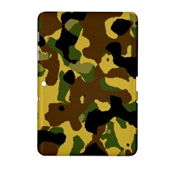 Camo Pattern  Samsung Galaxy Tab 2 (10 1 ) P5100 Hardshell Case  by Colorfulart23