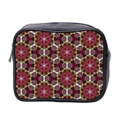Cute Pretty Elegant Pattern Mini Travel Toiletry Bag (two Sides) by creativemom