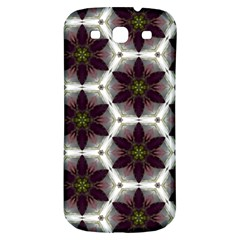 Cute Pretty Elegant Pattern Samsung Galaxy S3 S Iii Classic Hardshell Back Case by creativemom