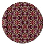 Cute Pretty Elegant Pattern Magnet 5  (Round) Front