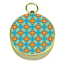 Cute Pretty Elegant Pattern Gold Compass by creativemom