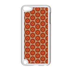 Cute Pretty Elegant Pattern Apple Ipod Touch 5 Case (white) by creativemom