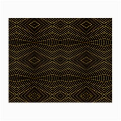 Futuristic Geometric Design Glasses Cloth (small, Two Sided) by dflcprints