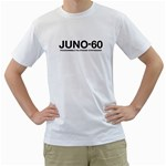 Juno 60 Synthesizer Black  Men s T-Shirt (White)  Front