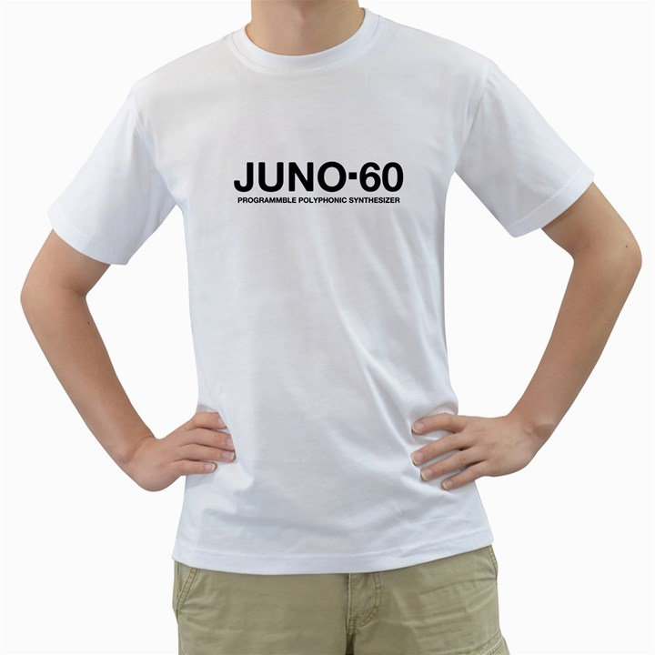 Juno 60 Synthesizer Black  Men s T-Shirt (White)