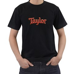 Taylor Guitars Bold Men s T Shirt (black)