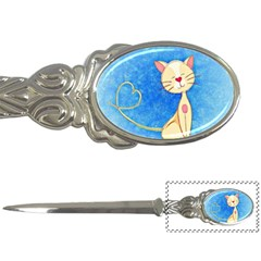 Cute Cat Letter Opener by Colorfulart23
