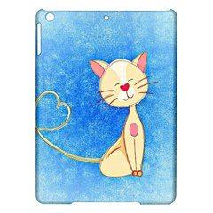 Cute Cat Apple Ipad Air Hardshell Case by Colorfulart23