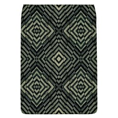 Geometric Futuristic Grunge Print Removable Flap Cover (large) by dflcprints