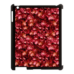 Warm Floral Collage Print Apple Ipad 3/4 Case (black) by dflcprints