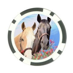 Miwok Horses Poker Chip (10 Pack) by JulianneOsoske