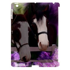 Two Horses Apple Ipad 3/4 Hardshell Case (compatible With Smart Cover) by JulianneOsoske