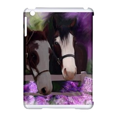 Two Horses Apple Ipad Mini Hardshell Case (compatible With Smart Cover) by JulianneOsoske