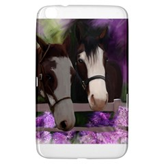 Two Horses Samsung Galaxy Tab 3 (8 ) T3100 Hardshell Case  by JulianneOsoske