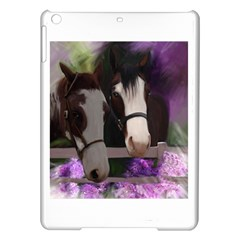 Two Horses Apple Ipad Air Hardshell Case by JulianneOsoske