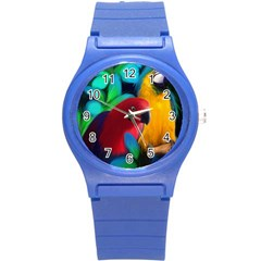 Two Friends Plastic Sport Watch (small) by JulianneOsoskeFeathers