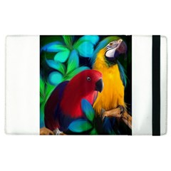 Two Friends Apple Ipad 3/4 Flip Case by JulianneOsoskeFeathers