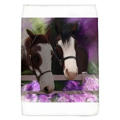 Two Horses Removable Flap Cover (large)