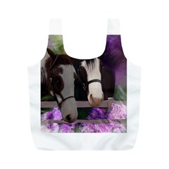 Two Horses Reusable Bag (m) by JulianneOsoske