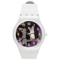 Two Horses Plastic Sport Watch (medium) by JulianneOsoske