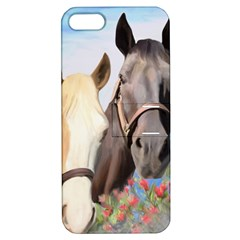 Miwok Horses Apple Iphone 5 Hardshell Case With Stand by JulianneOsoske