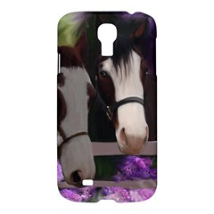 Two Horses Samsung Galaxy S4 I9500/i9505 Hardshell Case by JulianneOsoske